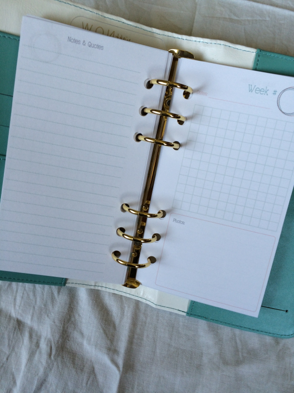 Inside my new Color Crush planner ~ Making Memories pages